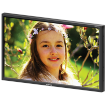 "21"" 3G-SDI LCD Monitor Super Bright Slim Wall Mount"