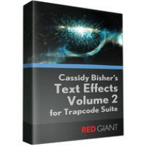 Text Effects II for Trapcode