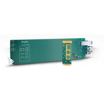 2-Channel 3G-SDI to Multi-Mode LC Fiber Transmitter - Requires 2 slots in frame