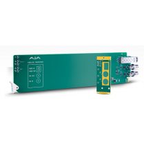 1-Channel 3G-SDI/LC Multi-Mode LC Fiber Transceiver - Requires 2 slots in frame