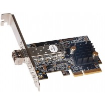 Solo10G SFP+ 10GbE PCIe Card with short-range SFP+ module