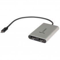 Thunderbolt 3 to Dual DisplayPort Adapter