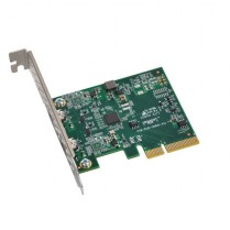 Allegro USB 3.1Two-Port USB-C 10Gb PCIe Card