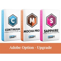 Bundle: Sapphire + Continuum + Mocha Pro Adobe Only - Upgrade from previous version