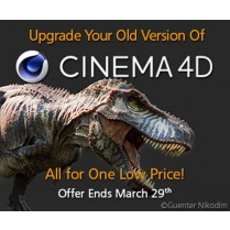 C4D Studio R20 Upgrade from all Editions and Versions of C4D - Special Offer - includes MSA