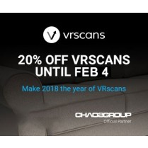 VRscans Library Annual Licence for 3ds Max, Maya or SketchUp