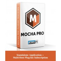 Mocha Pro Standalone Application + Multi-Host Plug-ins Subscription (Floating)