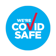 covid safe business badge