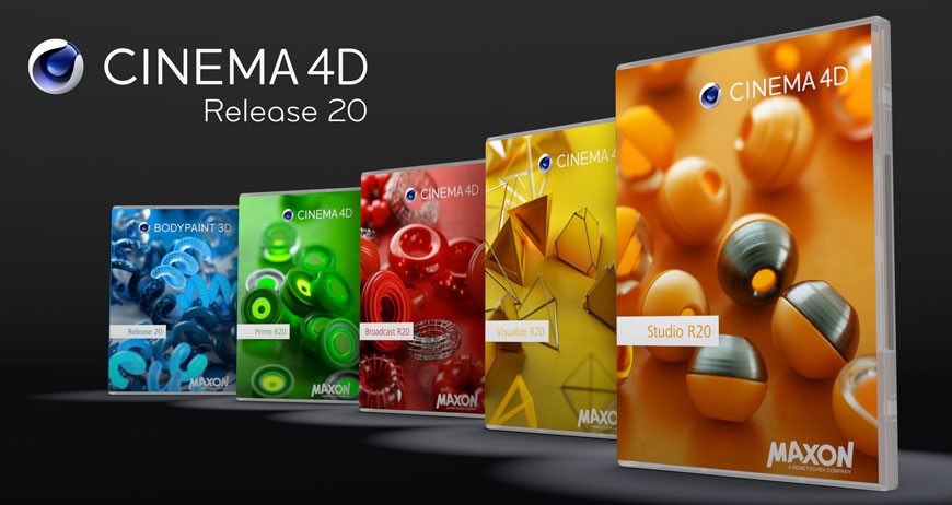 The Latest - MAXON Cinema 4D Release 20 Available